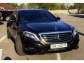 085 Mercedes W222 S500l Amg черный аренда с водителем - Київ 0