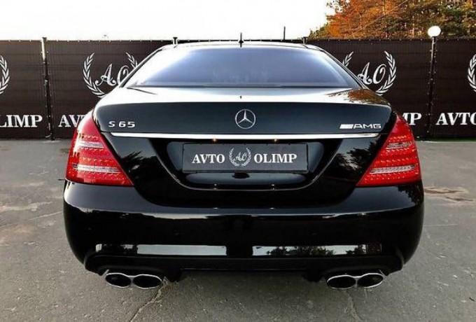 090 Mercedes W221 S65l Amg черный аренда с водителем - Київ 3