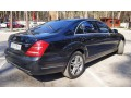 091 Mercedes-benz W221 S500 Black аренда с водителем - Київ 2
