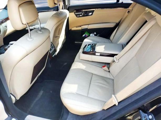 091 Mercedes-benz W221 S500 Black аренда с водителем - Київ 6