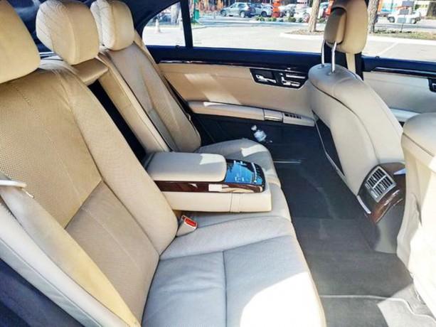 091 Mercedes-benz W221 S500 Black аренда с водителем - Київ 7