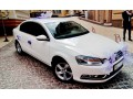 143 Volkswagen Passat B7 белый аренда с водителем - Київ 0