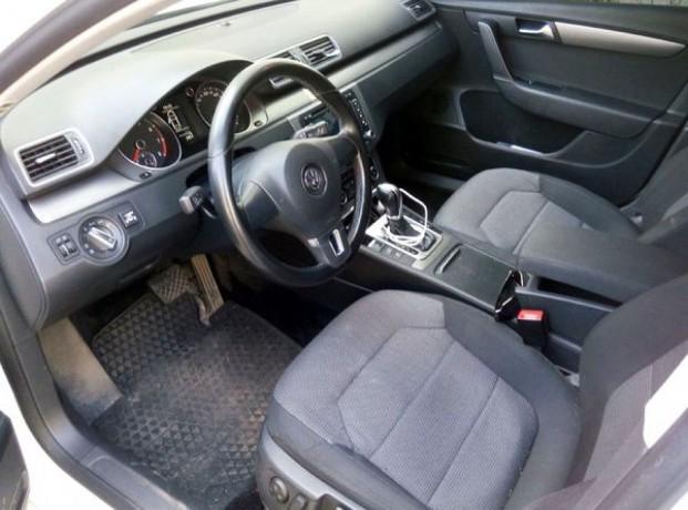 143 Volkswagen Passat B7 белый аренда с водителем - Київ 4