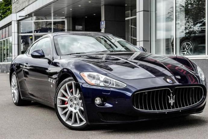 097 Maserati Granturismo аренда с водителем - Київ 2