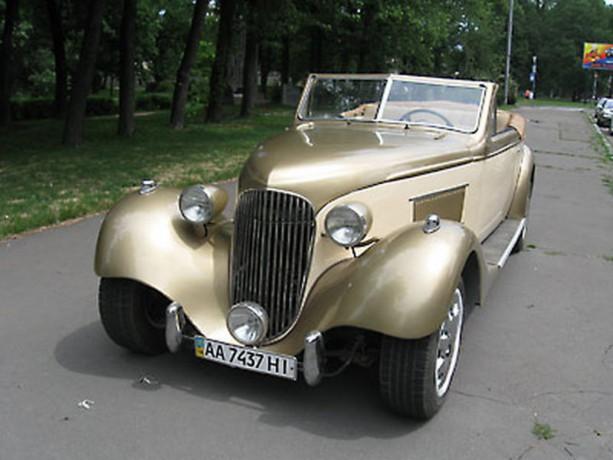 195 ретро автомобиль Steyr аренда с водителем - Київ 2