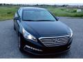 172 Hyundai Sonata черная аренда с водителем - Київ 0