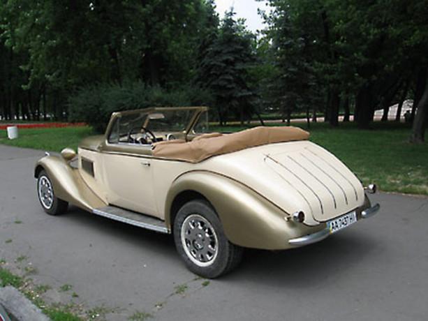 195 ретро автомобиль Steyr аренда с водителем - Київ 3