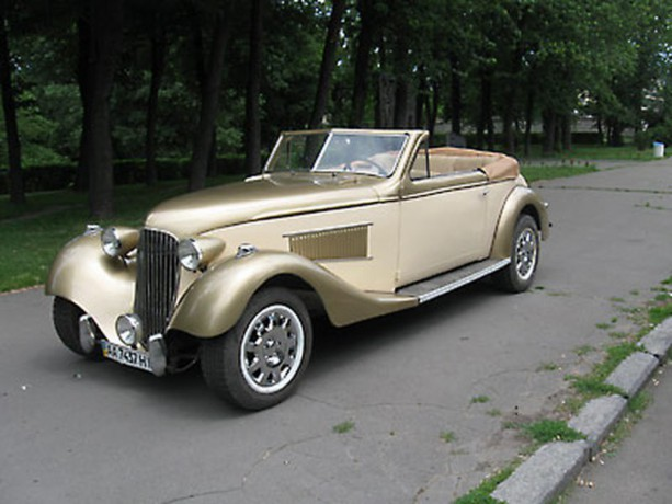 195 ретро автомобиль Steyr аренда с водителем - Київ 0