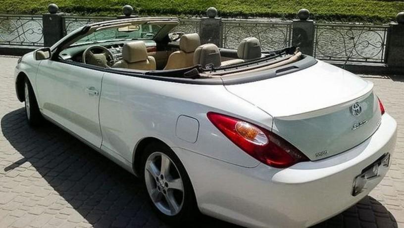 222 кабриолет Toyota Solara белая аренда с водителем - Київ 2
