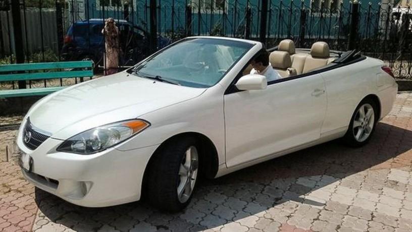 222 кабриолет Toyota Solara белая аренда с водителем - Київ 1