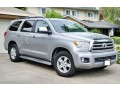 237 внедорожник Toyota Sequoia серебристая аренда с водителем - Київ 1