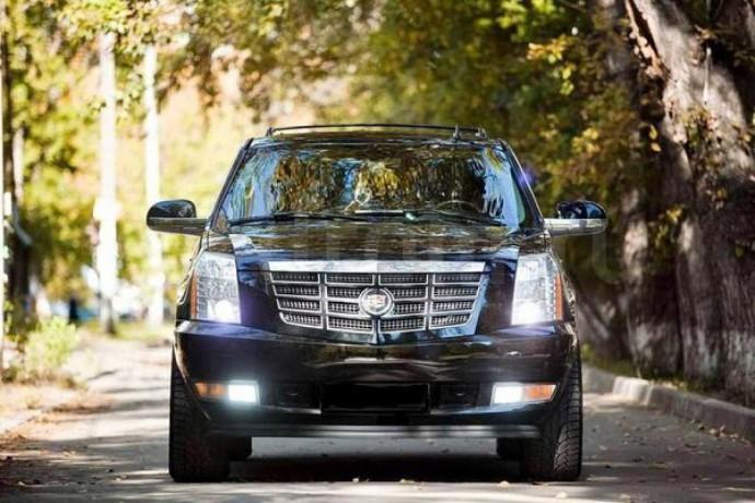 246 внедорожник Cadillac Escalade черный аренда с водителем - Київ 3