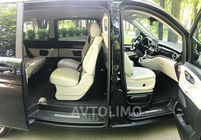 274 микроавтобус Mercedes V класс аренда с водителем - Київ 8