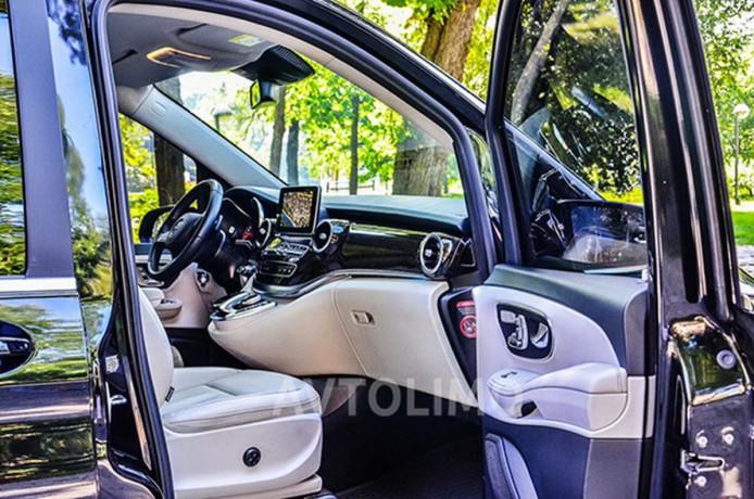 274 микроавтобус Mercedes V класс аренда с водителем - Київ 5