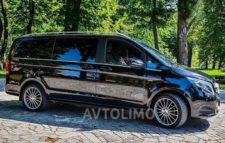 274 микроавтобус Mercedes V класс аренда с водителем - Київ 2
