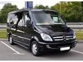 345 микроавтобус Mercedes Sprinter 218 черный Vip класса C водителем - Київ 0