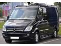345 микроавтобус Mercedes Sprinter 218 черный Vip класса C водителем - Київ 1