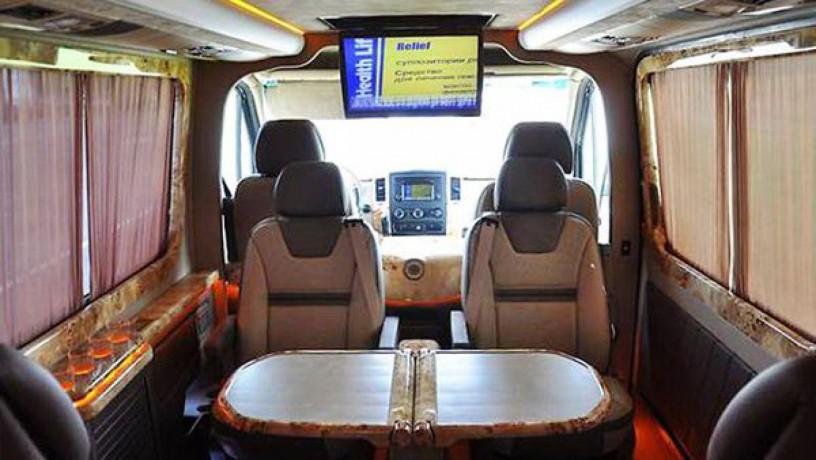 345 микроавтобус Mercedes Sprinter 218 черный Vip класса C водителем - Київ 4