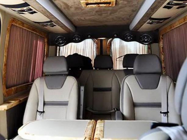345 микроавтобус Mercedes Sprinter 218 черный Vip класса C водителем - Київ 6