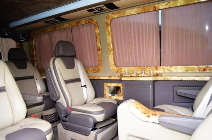 345 микроавтобус Mercedes Sprinter 218 черный Vip класса C водителем - Київ 3