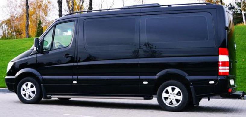 345 микроавтобус Mercedes Sprinter 218 черный Vip класса C водителем - Київ 2