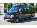 181 микроавтобус Mercedes Sprinter черный Vip класса аренда с водителем - Київ 0