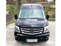 181 микроавтобус Mercedes Sprinter черный Vip класса аренда с водителем - Київ 1