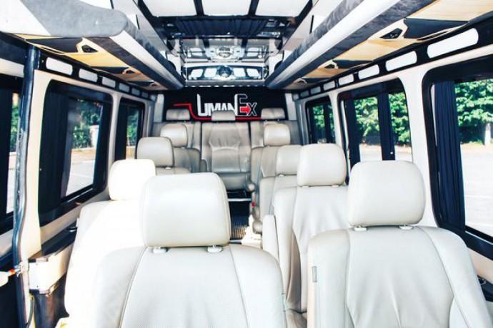 181 микроавтобус Mercedes Sprinter черный Vip класса аренда с водителем - Київ 9