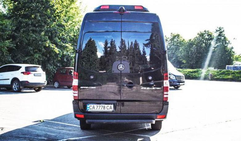 181 микроавтобус Mercedes Sprinter черный Vip класса аренда с водителем - Київ 8