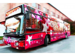 369 Автобус Пати бас Diamond Party Bus прокат - Київ