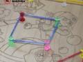 """Іграшка геометричні резиночки """"Геоборд"""" - Вінниця 6"""