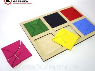 Іграшка  склади квадрат методика Нікітіна3 частина - Вінниця