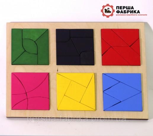 Іграшка  склади квадрат методика Нікітіна3 частина - Вінниця 0