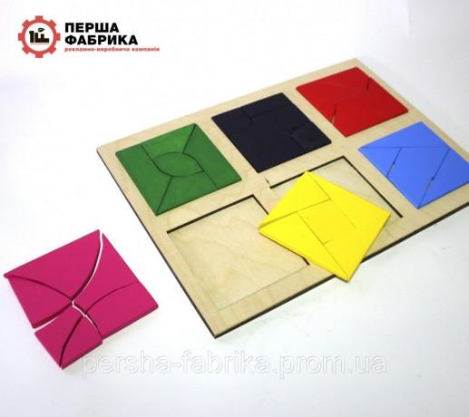 Іграшка  склади квадрат методика Нікітіна3 частина - Вінниця 3
