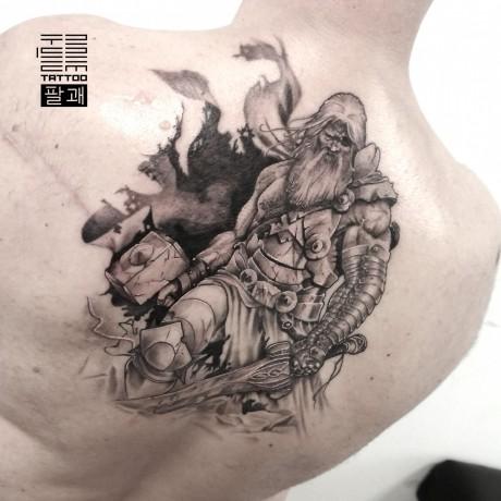 [Trigram tattoo] Тату / татуировка / tattoo - Київ 6