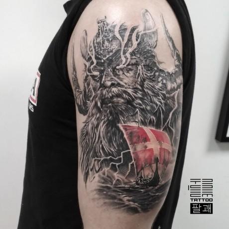 [Trigram tattoo] Тату / татуировка / tattoo - Київ 3