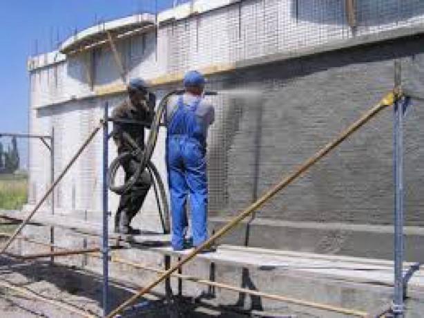 Покраска бетона- фасада, жби изделий, бордюров - Київ 0
