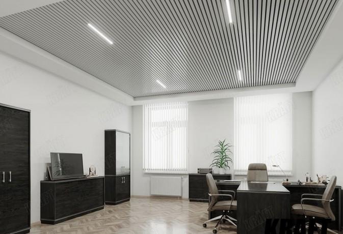 Реечный потолок, кубический реечный потолок,рейка кубическая. - Київ 0