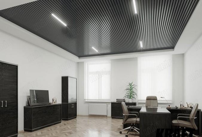 Реечный потолок, кубический реечный потолок,рейка кубическая. - Київ 3