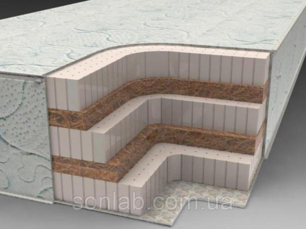 Латексный матрас SoNLaB Latex Т18 высотой 20 см - Запоріжжя 3