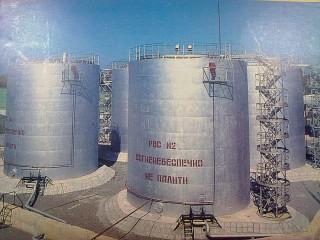 Резервуар 1000м3(РВС) - Днепр