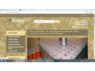 Продаётся интернет бизнес - интернет магазин «Кобра» - Дніпро
