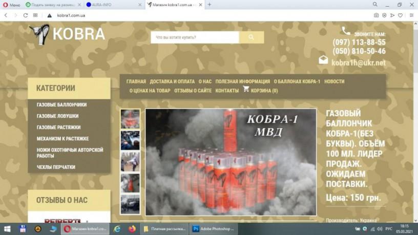 Продаётся интернет бизнес - интернет магазин «Кобра» - Дніпро 2