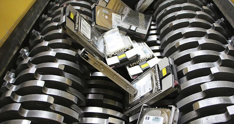 Уничтожение жестких дисков - Київ 1