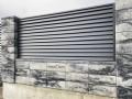 Паркан з блоків в стилі Лофт, з секціями Ранчо - Сокаль 3