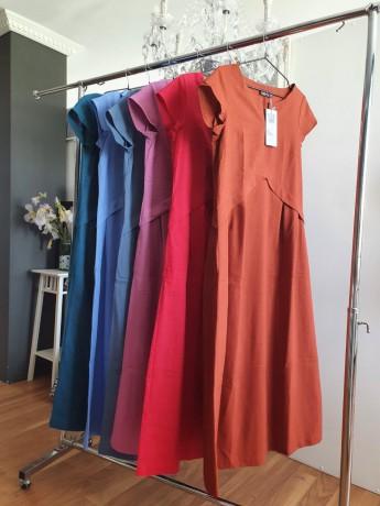 Платье из облегченного льна Season в стиле розового цвета - Київ 1