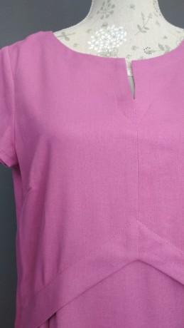 Платье из облегченного льна Season в стиле розового цвета - Київ 5