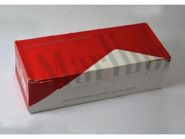 Гильзы для набивки сигарет Мальборо Marlboro, ЛЮКС LUX опт - Київ 1