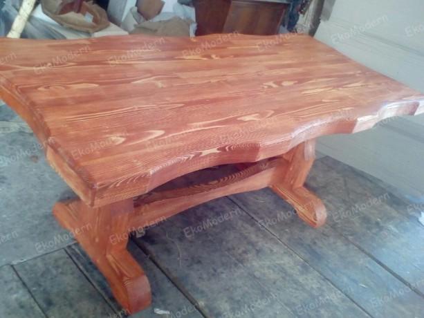 Стол обеденный деревянный СОСТАРЕННЫЙ для дома, кафе, бара - Дніпро 3
