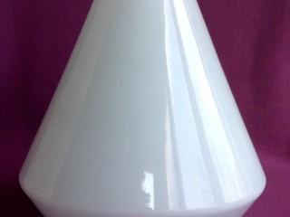 Плафон для торшера и бра Конус.  Двойное белое молочное стекло. - Одеса